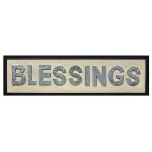 Blessings Framed Sign G13105 By CWI Gifts