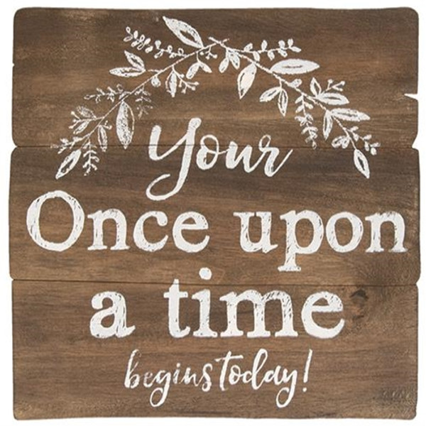 Once Upon A Time Easel G34296 By CWI Gifts