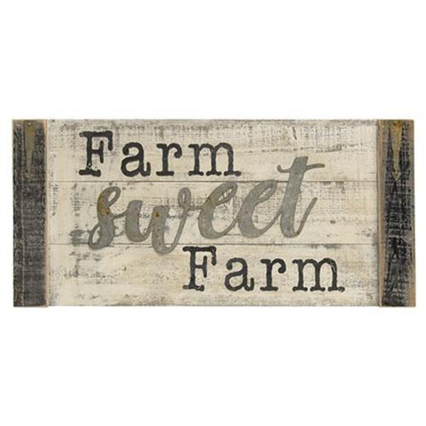 Farm Sweet Farm Wall Sign G60229 By CWI Gifts