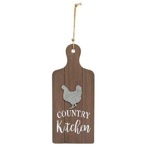 Country Kitchen Cutting Board Wall Hanger G90768 By CWI Gifts