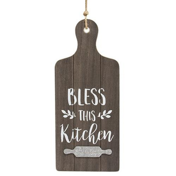 Bless This Kitchen Cutting Board Wall Hanger G90769 By CWI Gifts