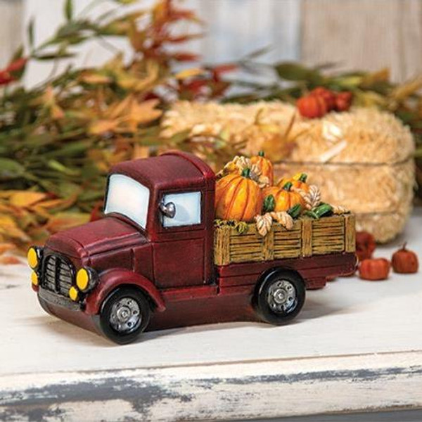 '+Resin Harvest Farm Truck GCHD513 By CWI Gifts