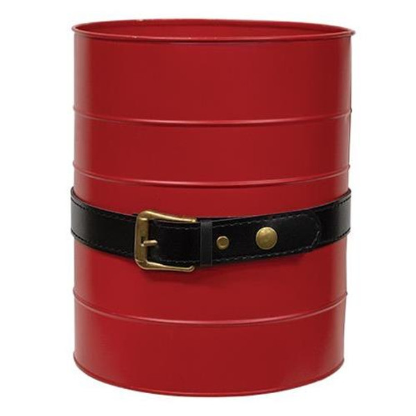 Santa Belt Red Bucket GHDY18130 By CWI Gifts