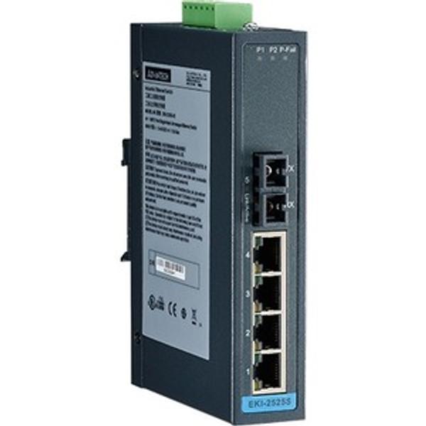 4-Port Ethernet Switch W/ 1-Port 100Fx Single-Mode By Advantech