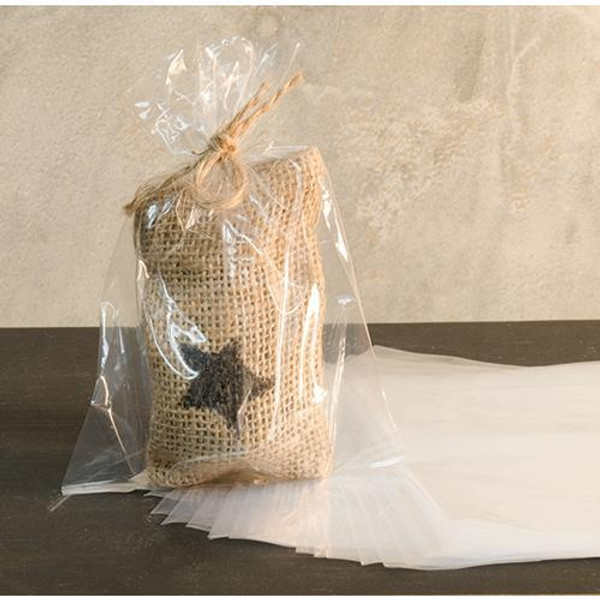 4 X 6 Inch Poly Bags - 100/Pkg M4X6 By CWI Gifts