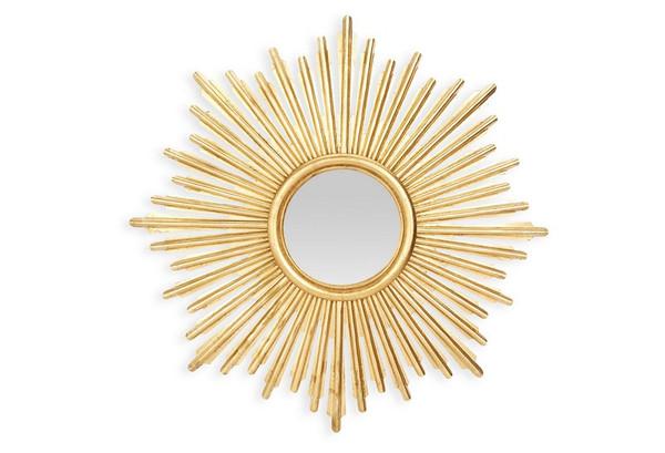 Antique Gold Sunburst Mirror HC686 by Dessau Home