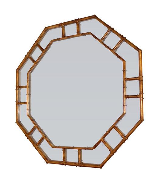 Antique Gold Octagonal Wall Mirror HC713 by Dessau Home