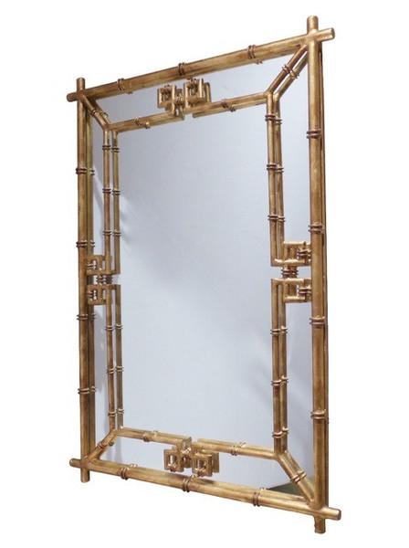 Antique Gold Fretwork Mirror HC723 by Dessau Home