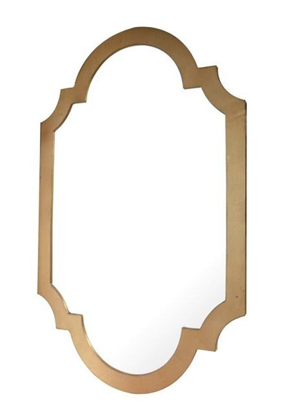 Antique Gold Chippendale Mirror NY044 by Dessau Home