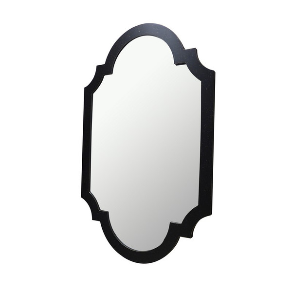 Antique Black Chippendale Mirror NY045 by Dessau Home