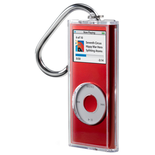 Acrylic Case For Ipod Nano With Carabiner Clip By Belkin