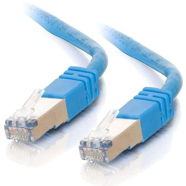 100Ft Cat5E Molded Shielded (Stp) Network Patch Cable - Blue By C2G