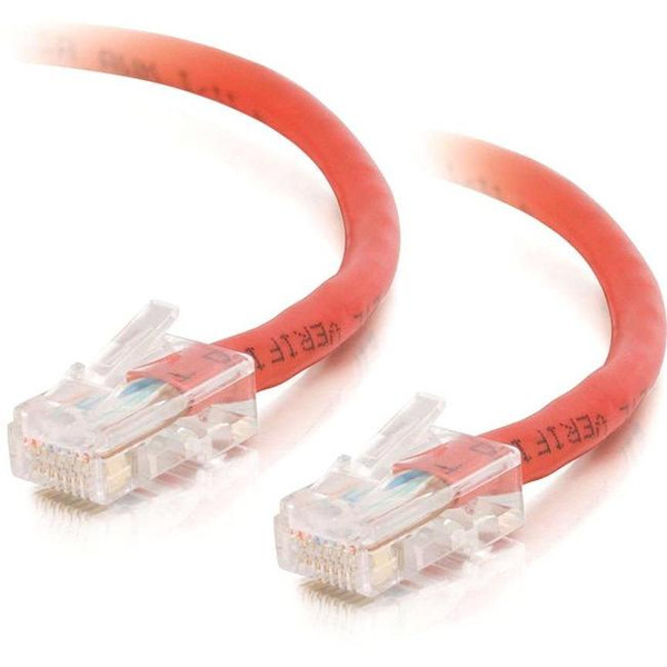 100Ft Cat5E Non-Booted Crossover Unshielded (Utp) Network Patch Cable - Red By C2G