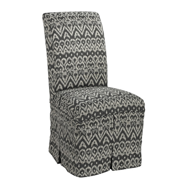 Ambrosia Driftwood Parsons Chair Skirted - (Cover Only) 6086431 By Sterling