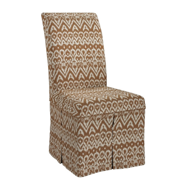 Ambrosia Clay Parsons Chair Skirted- (Cover Only) 6086481 By Sterling