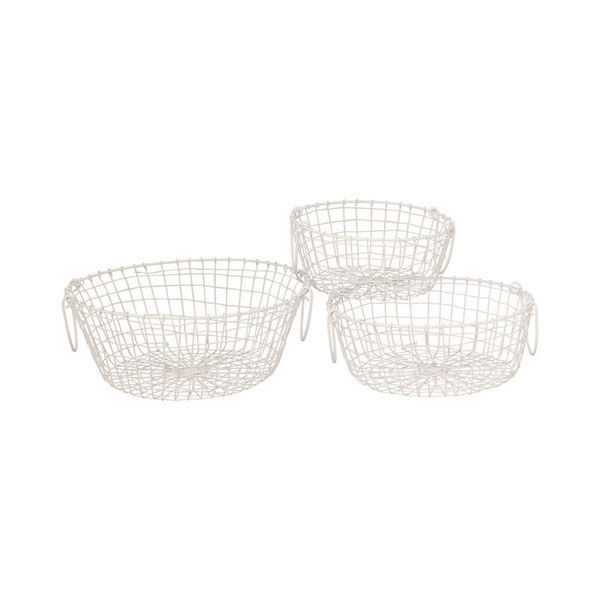 Pomeroy Howell Set Of 3 Round Baskets 639753