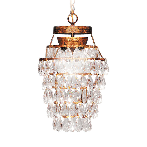 3 Light Decor Drop Chandelier 92-665 By Sterling