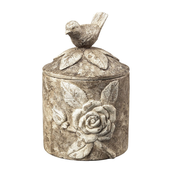 Bird Box In Distressed Finish 93-10056 By Sterling