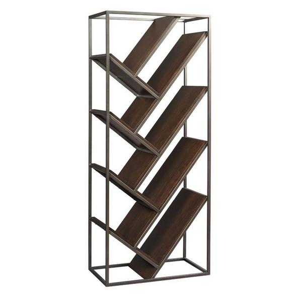 Chevron Bookcase 798-939