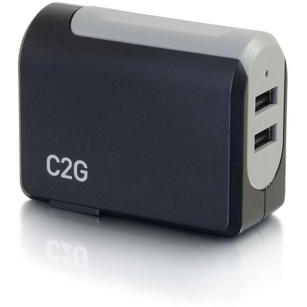 C2G 2-Port Usb Wall Charger - Ac To Usb Adapter, 5V 4.8A Output 20276C2G By C2G