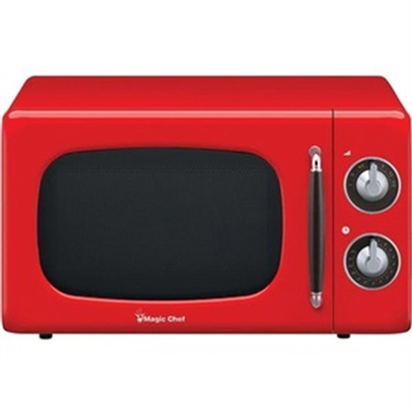 0.7 Cf 700W Microwave Oven Red MCD770CR By Magic Chef