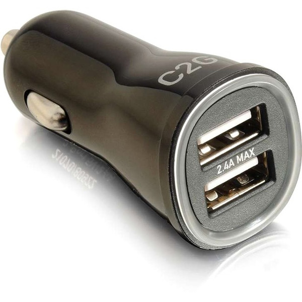 C2G Smart 2-Port Usb Car Charger, 2.4A Output 3DM233 By C2G