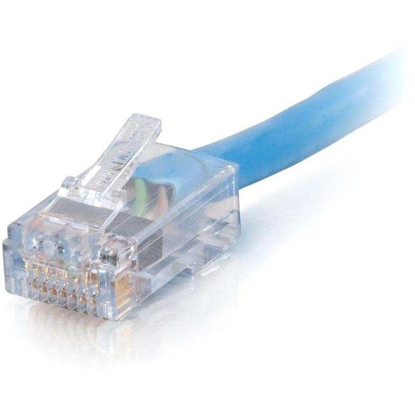 C2G-100Ft Cat6 Non-Booted Network Patch Cable (Plenum-Rated) - Blue 7AB283 By C2G