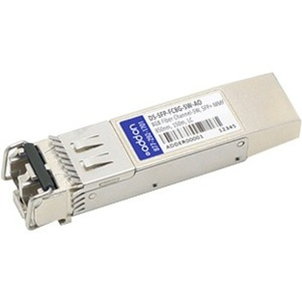 Addon Cisco Ds-Sfp-Fc8G-Sw Compatible Taa Compliant 2/4/8Gbs Fibre Channel Sw Sfp+ Transceiver (Mmf, 850Nm, 150M, Lc) CF4161 By AddOn