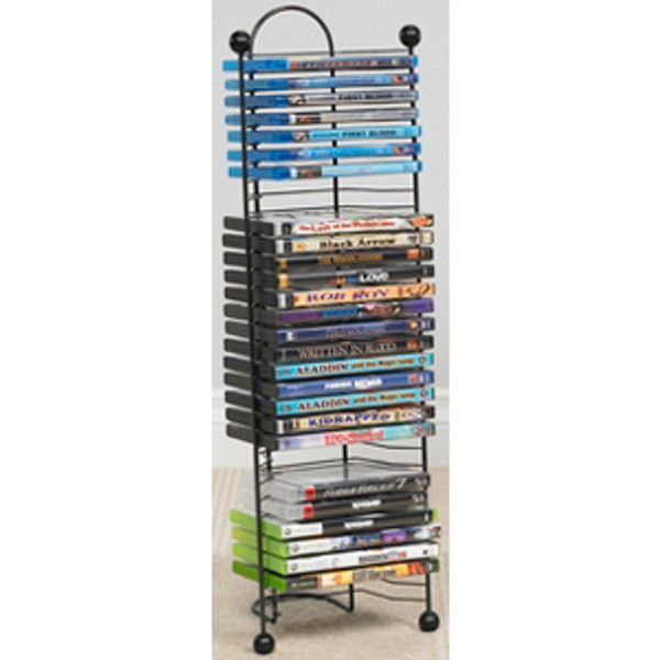 Atlantic Nestable 63712046 Media Storage Rack GB1185 By Atlantic