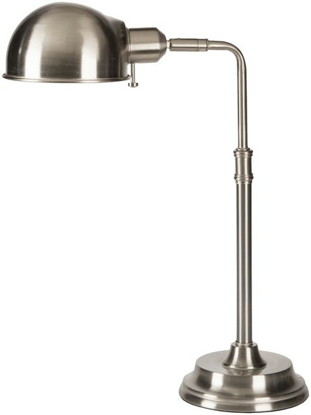 Brushed Steel Table Lamp COLP-003
