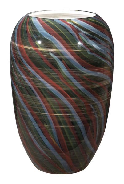 """Homeroots 10.2"""" X 10.2"""" X 15.4"""" Multicolor, Ceramic, Large Vase 364962"""