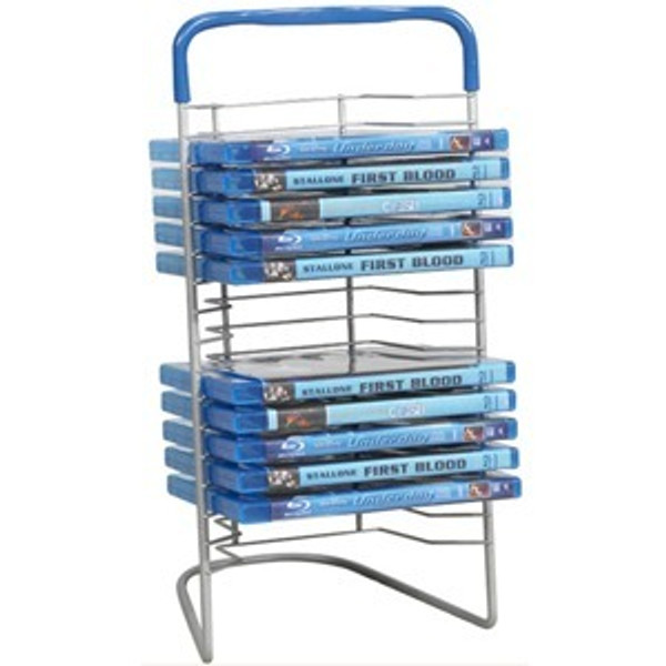 Atlantic Nestable Dvd Wire Rack Y94986 By Atlantic