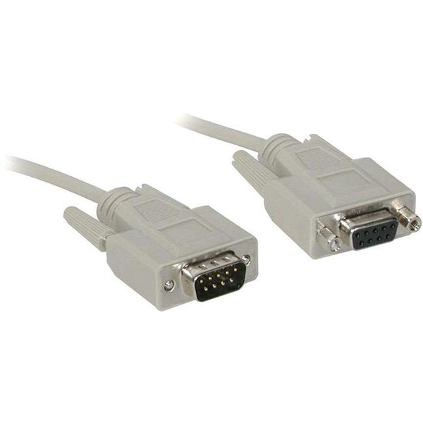 C2G 6Ft Db9 M/F Extension Cable - Beige 376220 By C2G