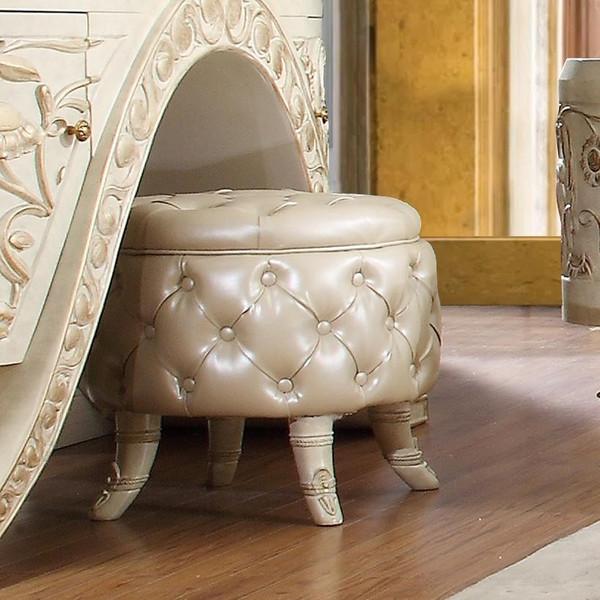 Homey Design Victorian Stool HD-ST8030