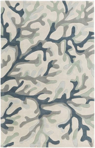Surya Cosmopolitan Hand Tufted Gray Rug COS-9262 - 5' x 8'