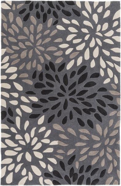 """Surya Cosmopolitan Hand Tufted Gray Rug COS-9263 - 3'6"""" x 5'6"""""""
