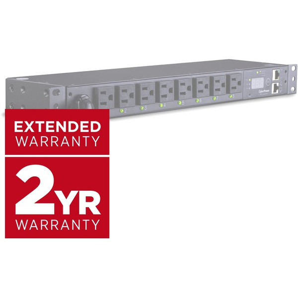 2-Year Extended Warranty (5-Years Total) For Select Pdus 4496028 By Cyberpower