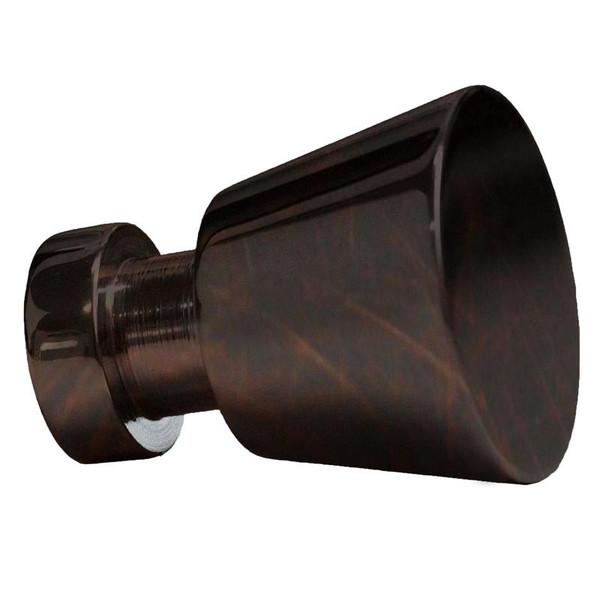 """1"""" W Round Brass Cabinet Knob In Oil Rubbed Bronze Color AI-22090"""