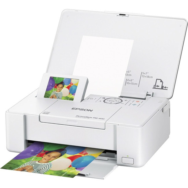Epson Picturemate Pm-400 Inkjet Printer - Color PM400 By Epson