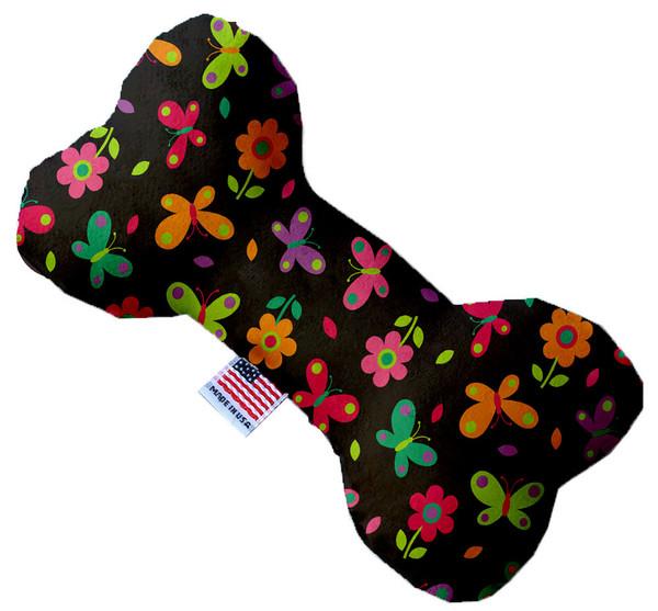 Butterflies In Brown 6 Inch Bone Dog Toy 1197-TYBN6 By Mirage