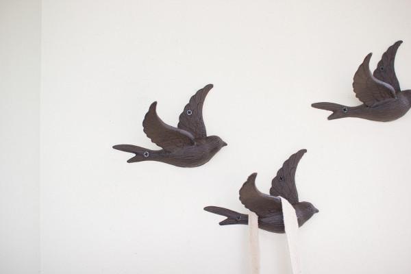 Cast Iron Flying Bird Wall Hook Cyb1262
