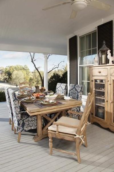 Kincaid Homecoming Pine Farmhouse Leg Table Black 33-056B