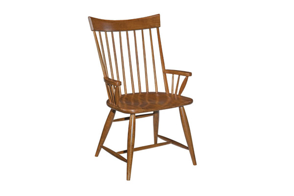 Kincaid Cherry Park Arm Chair Wood Seat 63-064V