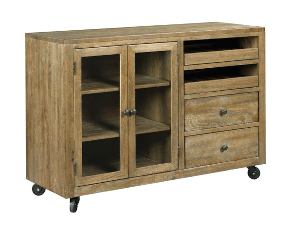 Kincaid The Nook - Brushed Oak Mobile Server 663-850