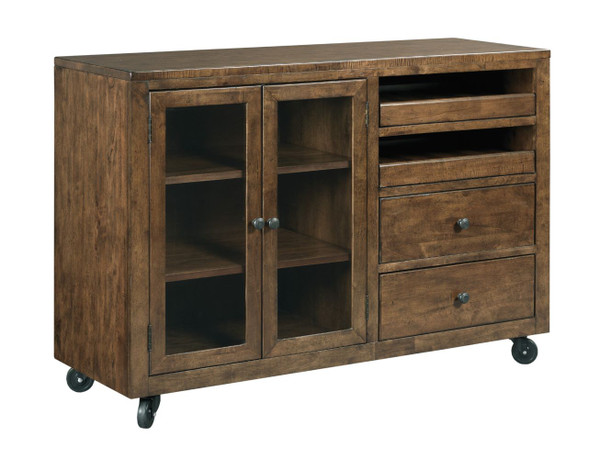 Kincaid The Nook - Hewned Maple Mobile Server 664-850