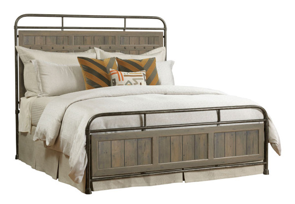 Kincaid Mill House Folsom Queen Metal Bed - Complete 860-395P