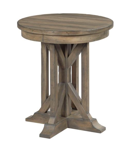 "Kincaid Mill House 22"" James Round End Table 860-916"