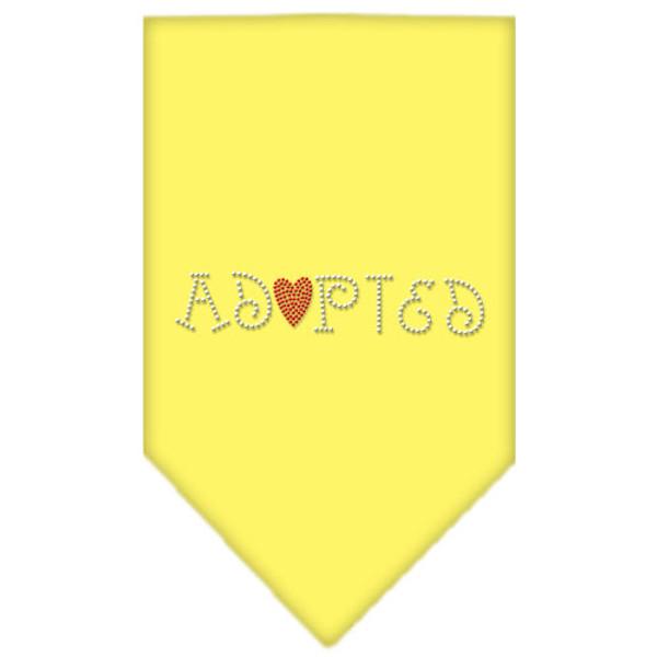 Adopted Rhinestone Bandana Yellow Large 67-01 LGYW By Mirage