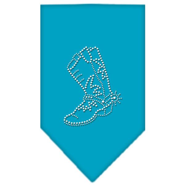 Boot Rhinestone Bandana Turquoise Small 67-14 SMTQ By Mirage