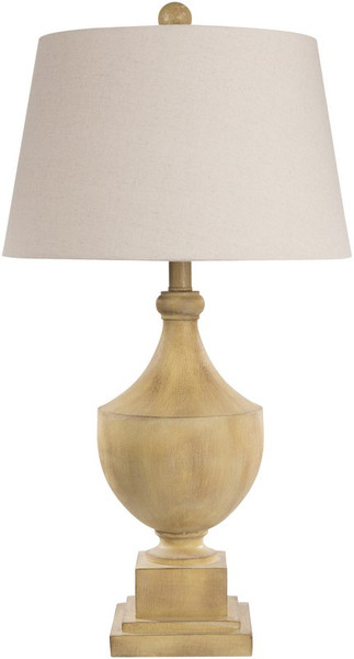 Antiqued Yellow Table Lamp ERLP-001